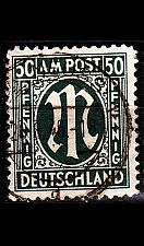 Buy GERMANY Alliiert AmBri [1945] MiNr 0032 b B ( O/used )