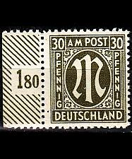 Buy GERMANY Alliiert AmBri [1945] MiNr 0029 a B ( **/mnh )