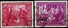 Buy GERMANY DDR [1950] MiNr 0248-49 ( OO/used ) [01]