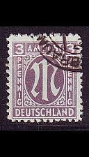 Buy GERMANY Alliiert AmBri [1945] MiNr 0017 a A ( O/used )