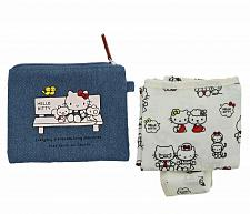 Buy New Hello Kitty Reusable Tote Touch Our Heart Sanrio Free Shipping