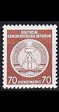 Buy GERMANY DDR [Dienst A] MiNr 0027 I ( **/mnh )