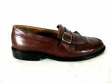 Buy Johnston Murphy Brown Leather Buckle Monk Strap Loafer Shoes Men's 8.5 M (SM5)