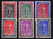 Buy LUXEMBURG LUXEMBOURG [1937] MiNr 0303-08 ( O/used ) perfekt