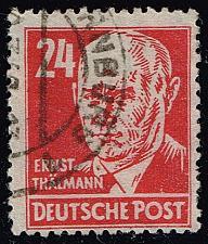 Buy Germany DDR #10N37 Ernst Th?ñlmann; Used (0.80) (2Stars) |DDR10N37-01XRS