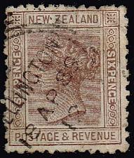 Buy New Zealand #65 Queen Victoria; Used (2Stars) |NWZ0065-03