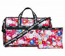 Buy New Hello LeSportsac x Hello Kitty Large Weekender Bag Print Kitty Free Shipping