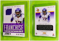 Buy Nfl Jarius Wright Minnesota Vikings 2013 Panini Game-worn Jersey Relic Mnt