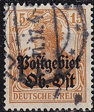 Buy GERMANY REICH Besetzung [OberOst] MiNr 0006 ( O/used ) [02]
