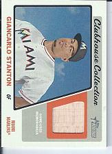 Buy Giancarlo Stanton 2015 Topps Heritage Clubhouse Collection Bat Relic