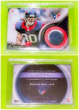 Buy NFL Jadeveon Clowney Houston Texans 2015 Bowman Football Game Worn Jersey Mnt