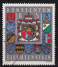 Buy LIECHTENSTEIN [1973] MiNr 0590 ( O/used ) Wappen