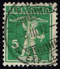 Buy Switzerland #157 William Tell's Son; Used (0.75) (2Stars) |SWI0157-14XRS