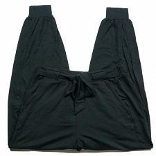 Buy AnyBody Womens Cozy Knit Jogger Pants w/ Tie Waistband Size XS Black Stretch