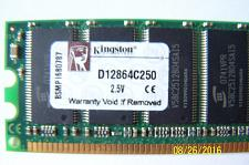 Buy kingston memory 1 GB Module DDR 333MHZ (D12864C250) 2.5V