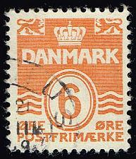Buy Denmark #224C Numeral; Used (3Stars) |DEN0224C-01XRS