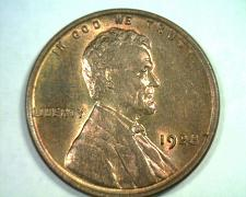 Buy 1928 LINCOLN CENT PENNY CHOICE UNCIRCULATED+ RED / BROWN CH. UNC.+ RB ORIGINAL