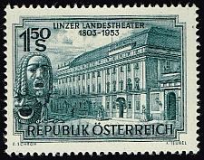 Buy Austria #589 State Theater at Linz; MNH (4Stars) |AUT0589-01XRP
