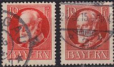 Buy GERMANY Bayern Bavaria [1914] MiNr 0096 I b ( O/used )