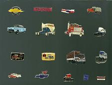Buy Vintage PIN Truck Car Freightliner Mack Chevy Cadillac International Volvo