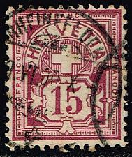Buy Switzerland #76 Numeral; Used (5.75) (2Stars) |SWI0076-02XRS