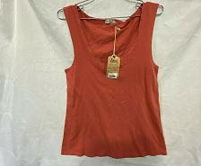 Buy Faherty Brand Beach Tank Top sun faded Red, charcoal & White