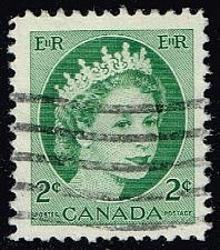 Buy Canada #338 Queen Elizabeth II; Used (0.25) (3Stars) |CAN0338-11XVA