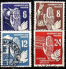 Buy GERMANY DDR [1950] MiNr 0276-79 ( OO/used )