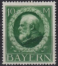 Buy GERMANY Bayern Bavaria [1916] MiNr 0108 II A ( */mh )