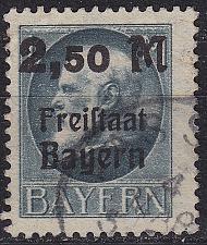 Buy GERMANY Bayern Bavaria [1919] MiNr 0176 A ( O/used ) [01]