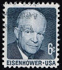 Buy US #1393 Dwight D. Eisenhower; Used (2Stars) |USA1393-02