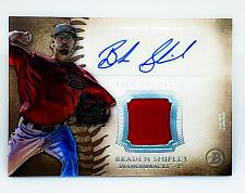 Buy MLB BRENDAN SHIPLEY DIAMONDBACKS AUTOGRAPHED 2015 TOPPS INCEPTION JERSEY MINT