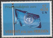 Buy [UV0301] UN Vienna: Sc. No. 301 (2001) MNH Single