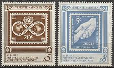 Buy [UV0121] UN Vienna: Sc. No. 121-122 (1991) MNH Complete Set