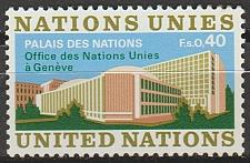 Buy [UG0022] UN Geneva: Sc. no. 22 (1972) MNH Single