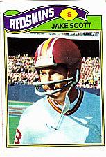 Buy Jake Scott #192 - Redskins 1977 Topps Football Trading Card