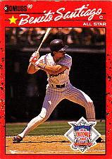 Buy Benito Santiago #708 - Padres 1990 Donruss Baseball Trading Card