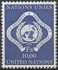 Buy [UG0014] UN Geneva: Sc. no. 14 (1970) MNH