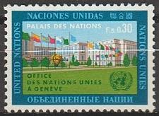 Buy [UG0002] UN Geneva: Sc. no. 4 (1969) MNH