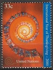 Buy [UN0772] UN NY: Sc. No. 772 (2000) MNH Single