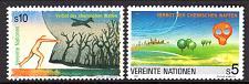 Buy [UV0119] UN Vienna: Sc. No. 119-120 (1991) MNH Complete Set