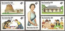 Buy [NZ0552] New Zealand: Sc. no. 552a-552e (1974) MNH Full Set