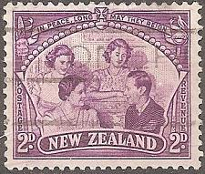 Buy [NZ0250] New Zealand: Sc. no. 250 (1946) Used