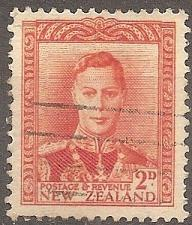 Buy [NZ0258] New Zealand: Sc. no. 258 (1947) Used