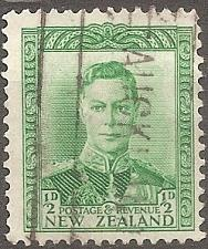 Buy [NZ0226] New Zealand: Sc. no. 226 (1938-1944) Used