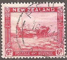 Buy [NZ0211] New Zealand: Sc. no. 211 (1936-1942) Used