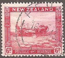 Buy [NZ0211] New Zealand: Sc. no. 211 (1936-1942) Used