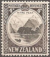 Buy [NZ0209] New Zealand: Sc. no. 209 (1936-1942) Used