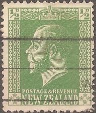 Buy [NZ0144] New Zealand: Sc. no. 144 (1915) Used