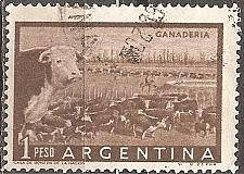 Buy [AR0635] Argentina: Sc. no. 635 (1958) Used
